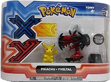 Pikachu Pokémon 2 Pack Figure Xerneas