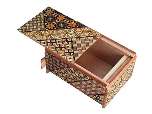 Japanese Puzzle box 4sun 7steps