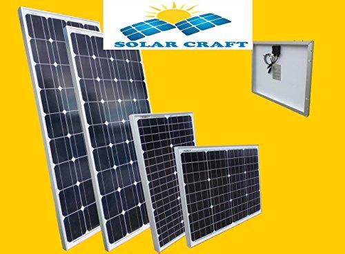 Solar Cell 2x130 Watt Power 12 V Pv Solar Panel Camping