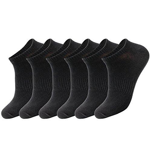 Blanc Pour Sport De 3 Chaussettes Hommes Paires 8 Comfortables 10 Respirantes Gris Élasthanne Aibrou Noir Vie 3 Et Unisex Quodienne Socquettes 6 Lot La Coton 2 Cwxa4