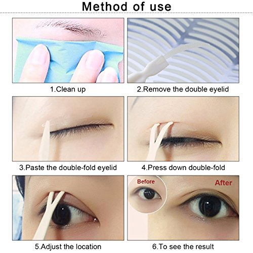 480Pcs/240Pairs Double Eyelid Tape Stickers - Ultra