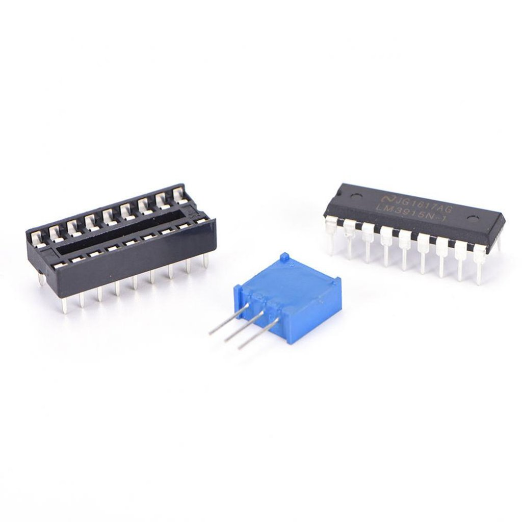 Magideal Lm3915 Audio Level Indicator Diy Kit Module 10 Led Bar Dot Vu Meter Circuit Based Electronics