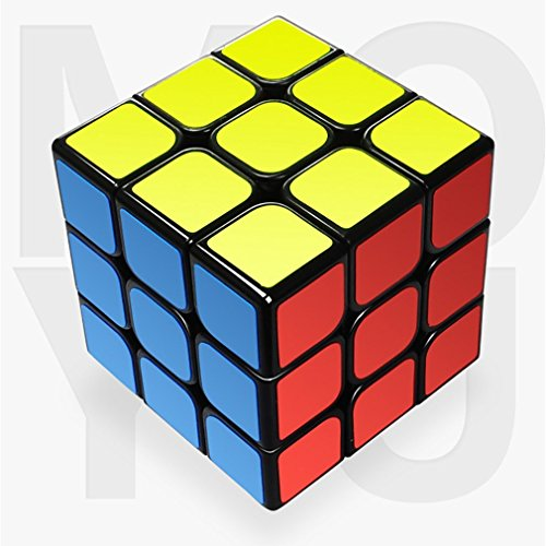 BenRan Speed Cube, Smooth Cornering Puzzle Cube, Easily Twist With Superior Cornering, Eco-Friendly ABS Plastics (3x3)