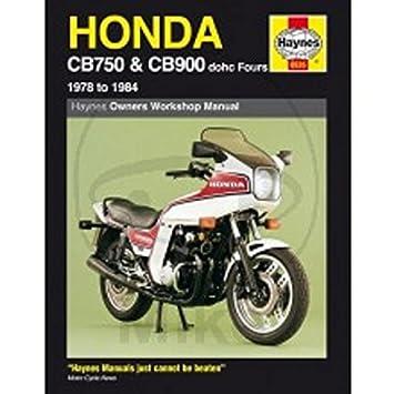 Reparaturanleitung - 702.50.30 - 0535 - HONDA CB750/900: Amazon.de ...