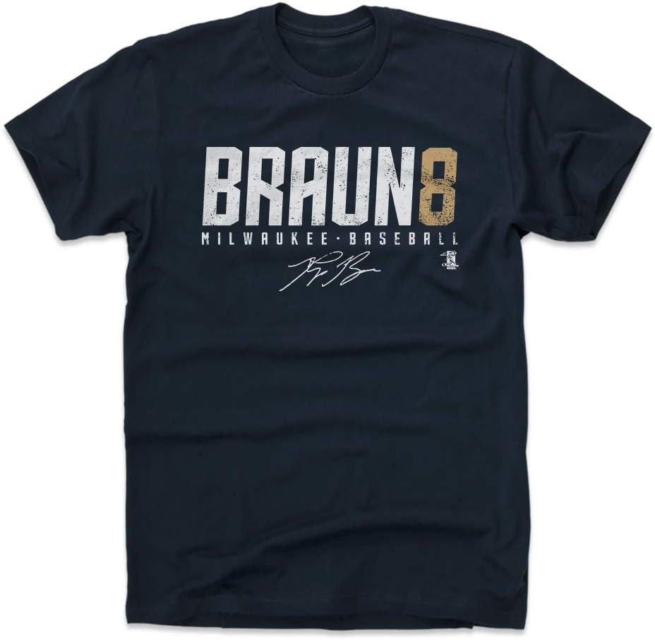 500 LEVEL Ryan Braun Shirt - Milwaukee Baseball Men's Apparel - Ryan Braun Braun8