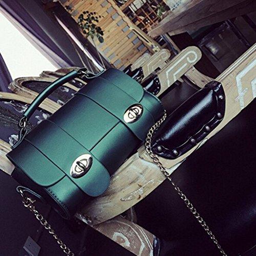 Bolsas Cruzado Sra 12 Cm 9 Paquete De Fhrr Hombro Bolso Oblicuo Verde 20 5HTqSg