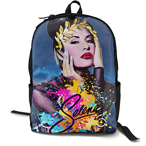 Selena Quintanilla Travel Hiking Backpacks Cute Fashion Camping Gym Laptop Bag Outdoor Backpack For Women Man's Adults