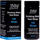JNW Direct Drinking Water Test Strips 9 in 1, Best Kit for Accurate Water Quality Testing at Home, 150 Strips MEGA Pack, Easy to Read & Instant Results