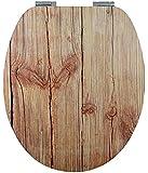 EISL High Gloss WC-Sitz WOOD mit Absenkautomatik, EDHGW01