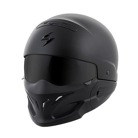 81dce424 Amazon.com: ScorpionExo Covert Unisex-Adult Half-Size-Style Matte Black  Helmet (Matte Black, X-Large): Automotive