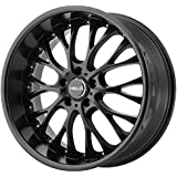 "Helo HE890 Satin Black Wheel (20x8.5""/5x120mm, +35mm offset)"