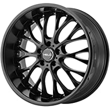 "Helo HE890 Satin Black Wheel (20x8.5""/5x120mm, +35mm offset)"