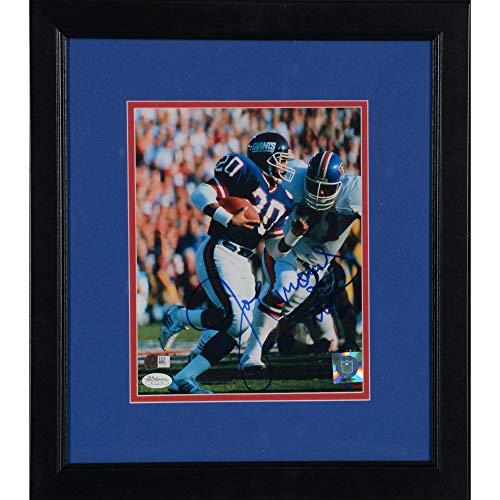 Joe Morris New York Giants Framed Autographed 8