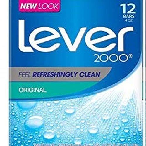 (Lever 2000 Bar Soap, Original, 4 oz, 12 Bar)