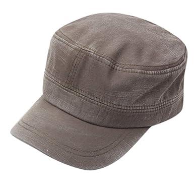 Winkey - Gorra de Hombre con Parte Superior Plana - Gorra de Moda ...
