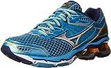 Mizuno Women's Wave Creation 18 Running Shoe, Alaskan Blue/Silver, 8 B US