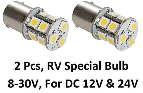Gold Stars 11568301 LED Replacement Bulb 1156 /1003 /1141 Base 120 LUMS 12V or 24V Natural White (1PK)