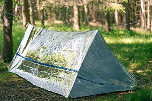 BlizeTec Emergency Bivy Sack ... & BlizeTec Emergency Bivy Sack Mylar Thermal Survival Blanket and ...