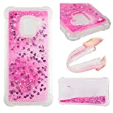 NEXCURIO Samsung Galaxy A8 (2018) / A530 Case Glitter Liquid Soft Silicone Shockproof Scratch Resistant Antishock Protective Cover for Samsung Galaxy A8 2018 - NEYBO10928 #3