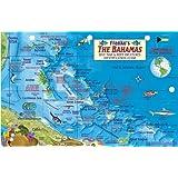 Bahamas Map & Reef Creatures Guide Franko Maps Laminated Fish Card