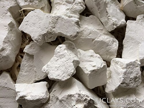 Uclays Kaolin Edible Clay Chunks (lump) Natural for Eating (Food), 8 oz (210 g) (Foods To Eat To Get Pregnant Easily)