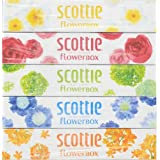スコッティ ティシュー フラワー 320枚(160組)×5パック