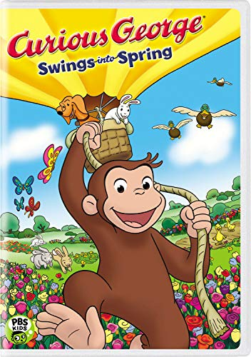 Curious George Swings into Spring (Monkey George Song Curious Christmas)