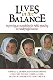 img - for Lives in the Balance: Improving Accountability for Public Spending in Developing Countries book / textbook / text book