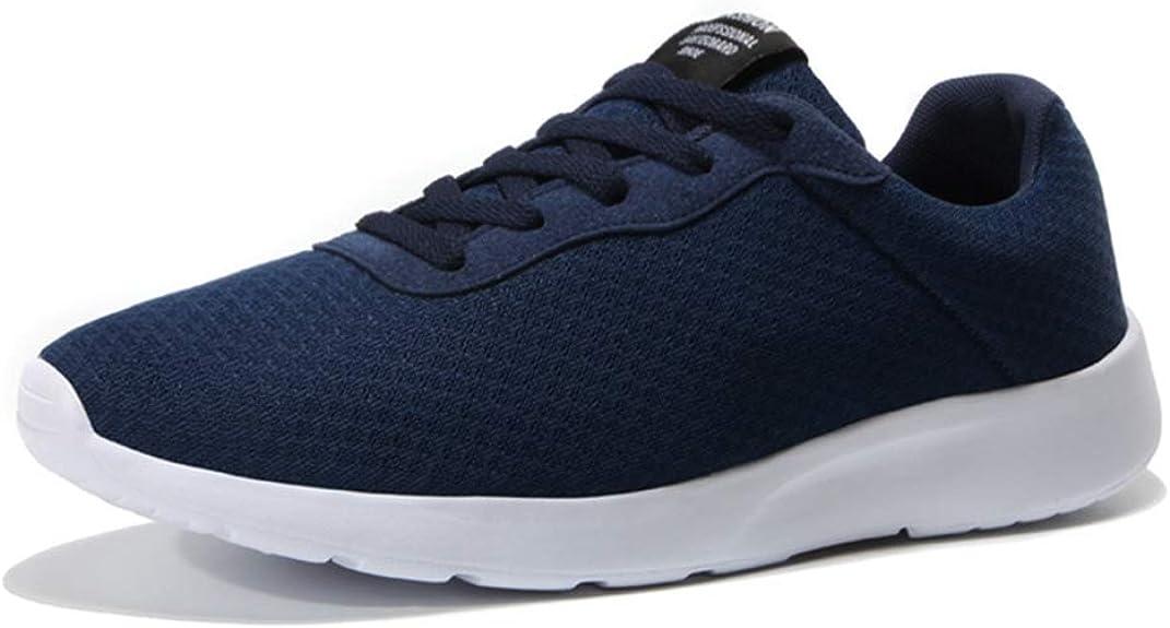 Hombres Running Zapatos Malla Athletic Entrenadores Caminar Jogging Calzado Cesta Zapatillas Deportivas Outdoor Zapatos para Hombre: Amazon.es: Zapatos y complementos