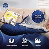 """Roore 5 lb Weighted Blanket for Kids I 36""""x48"""" I"""