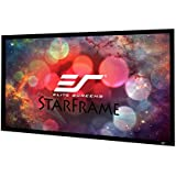 Elite Screens Star Frame Series, 135-INCH 16:9, 8K / 4K Ultra HD 3D Ready Fixed Frame Home Movie Theater Projector  / Projection Screen, SF135HW2