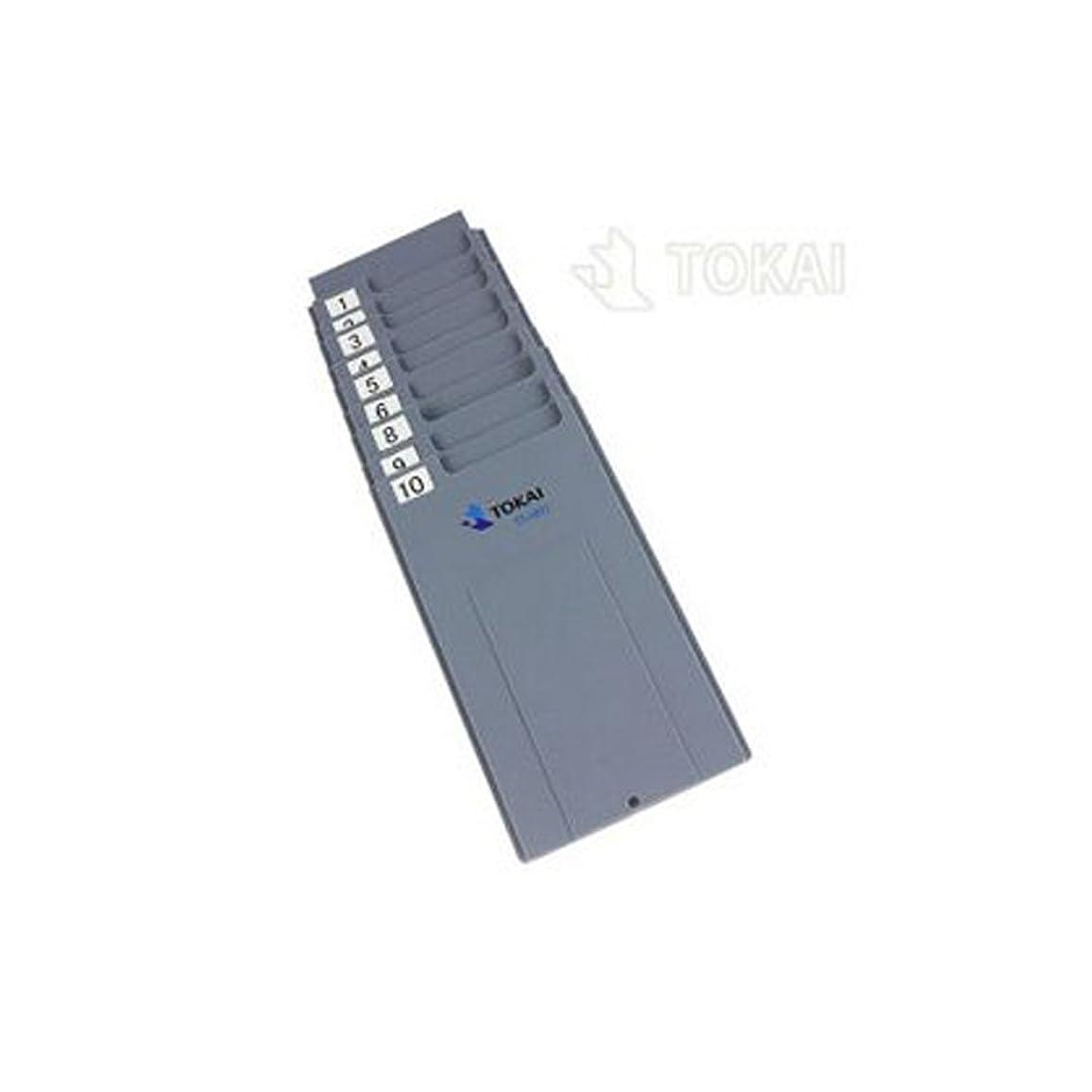 スクラッチ不正キャリアVOICE タイムレコーダー VT-2000 用 タイムカードラック10人用