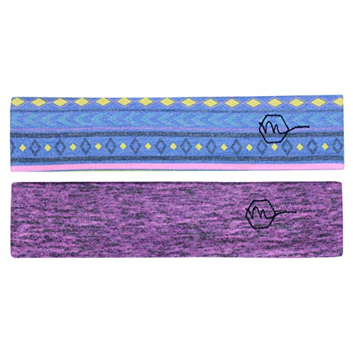 4890d4ac Maven Thread Women's Headband 2'' Wide Yoga Running Exercise Sports Workout  Athletic Gym Wide