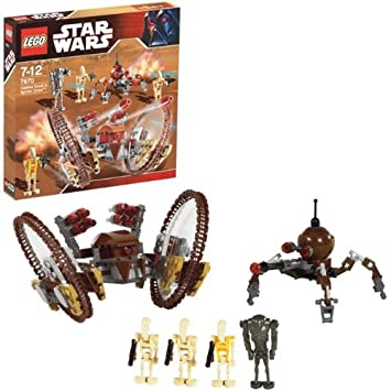 Lego Star Wars 7670 Hailfire Droid And Spider Droid Amazon