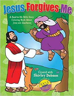 Buy Jesus Forgives Me A Read To Bible Study Coloring Book About And Zacchaeus Online At Low Prices In India
