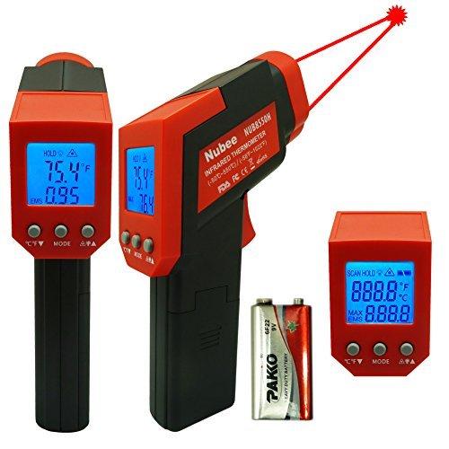 Nubee VF EQNR 9HUU CA Temperature Non contact Thermometer