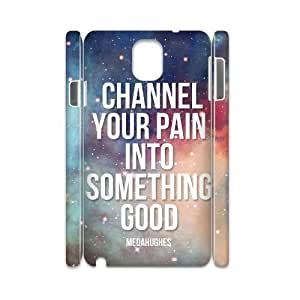 case Of Artistic 3D Bumper Plastic customized case For samsung galaxy note 3 N9000