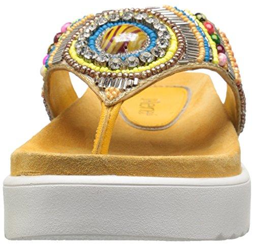 J Fantina Women Yellow Platform Sandal Renee BzBx6r