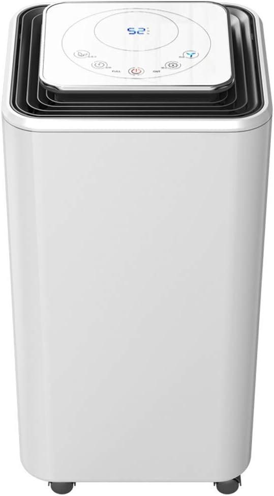 PNYGJPCSJ Pequeño deshumidificador Inteligente, secador de purificador de Aire Industrial de sótano de Dormitorio, Tanque de Agua de 2000 ml secador de Ropa silencioso for el hogar: Amazon.es: Hogar