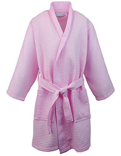 Kids Waffle Kimono Robe Girls