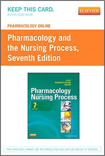 Pharmacology online for pharmacology and the nursing process retail pharmacology online for pharmacology and the nursing process retail access card 7e 7th edition fandeluxe Image collections