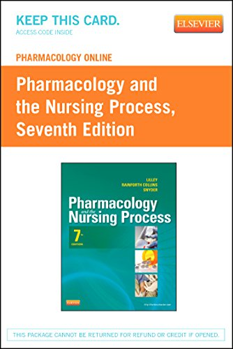 Books : Pharmacology Online for Pharmacology and the Nursing Process (Retail Access Card)