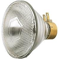 GE Lighting Soft White 80314 65-Watt, 675-Lumen PAR38 Light Bulb with Medium Side Prong Base, by GE Lighting