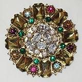 Erickson Beamon Floral Flower Brooch/Pin