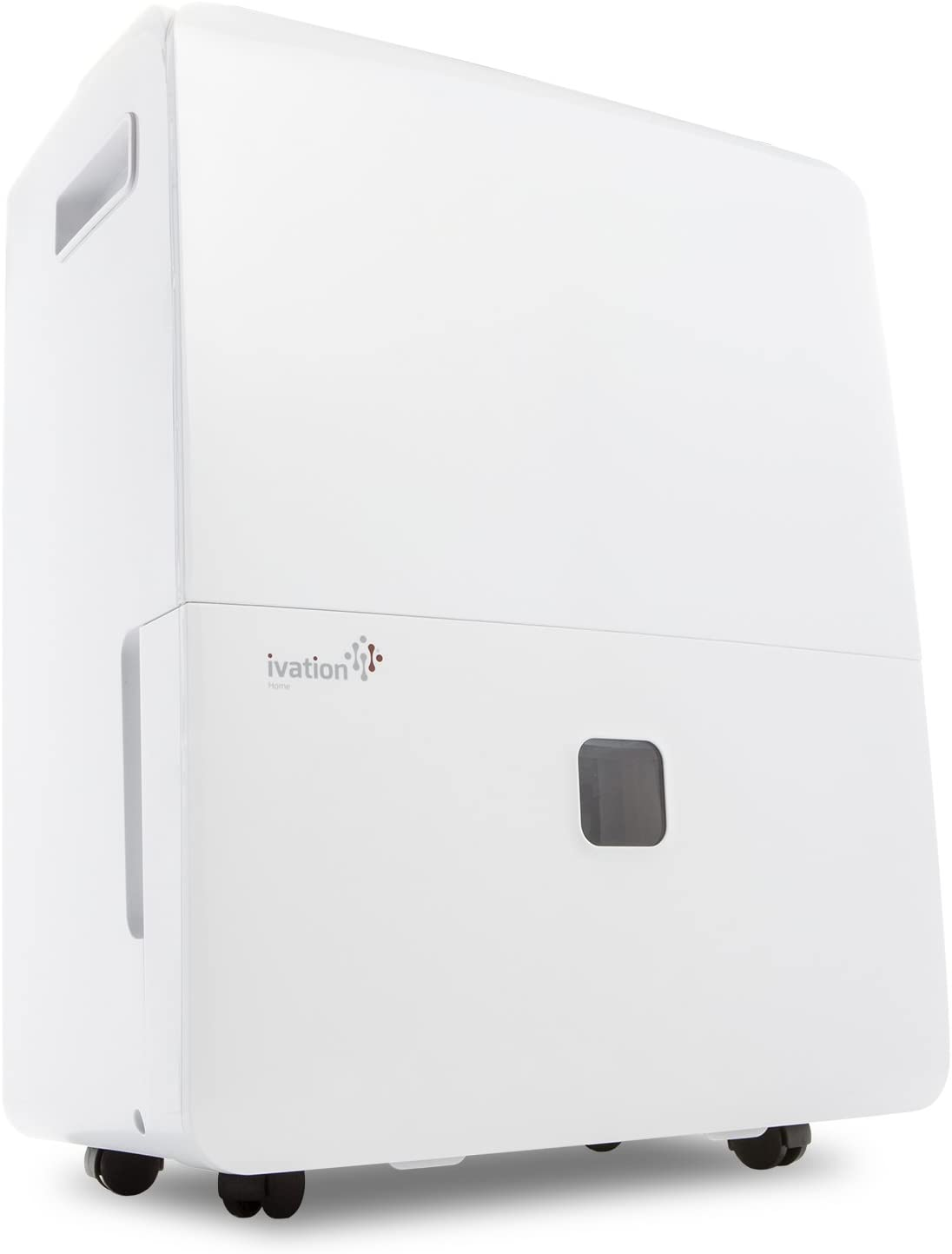 Ivation 6,000 Sq Ft Large-Capacity Energy Star Dehumidifier with Pump - 95 Pint Compressor (60 Pint New DOE) - Includes Programmable Humidistat, Hose Connector, Auto Shutoff/Restart, Washable Filter