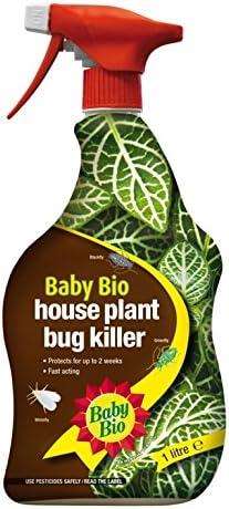Baby Bio casa de plantas insecticida 1L: Amazon.es: Jardín