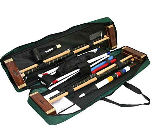 Garden Games Challenger Croquet Set in Toolkit Bag by Garden Games