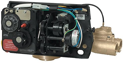 Fleck 9000 water softener control valve dual tank replacement head