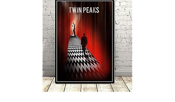 XQWZM Twin Peaks Poster, la Serie de televisión Muestra ...