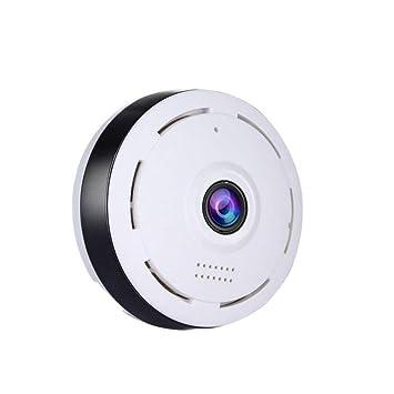 TUWEN CáMara 360 Grados Panorama Wireless WiFi Monitor Remoto Casa MóVil HD De VisióN Nocturna Vigilancia